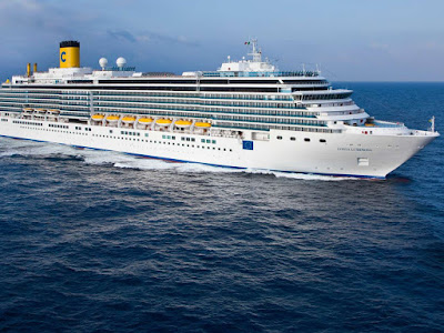 Costa Luminosa to Join Costa Pacfica and Costa Fascinosa in South America in 2020-2021 Cruises from Brazilm Argentina
