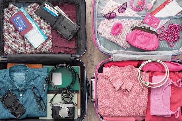 Cất trữ riêng những đồ đạc dùng để đi du lịch
