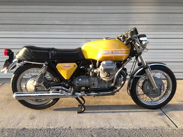 Moto Guzzi V7 Sport Exhaust Sound