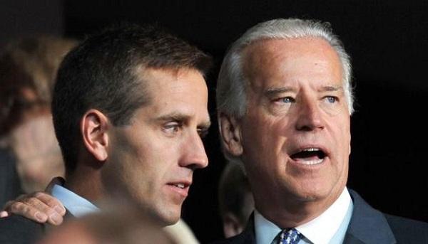 """Hunter Biden, """"empina"""" a su padre Joe Biden y ensucia su campaña"""