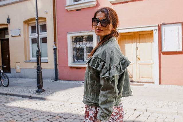 Kurtka,kurtka jeansowa,polscy projektanci