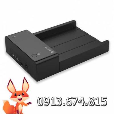 Đế Ổ Cứng Docking ORICO 6518US3 USB3.0/3.5/2.5 – Hàng Chính Hãng