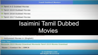 Isaimini Tamil Dubbed Movies Download