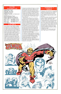 Superheroe Demonio Etrigan