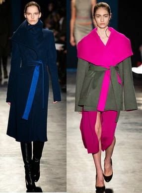 New York Fashion Week Fall Winter 2014 Coats