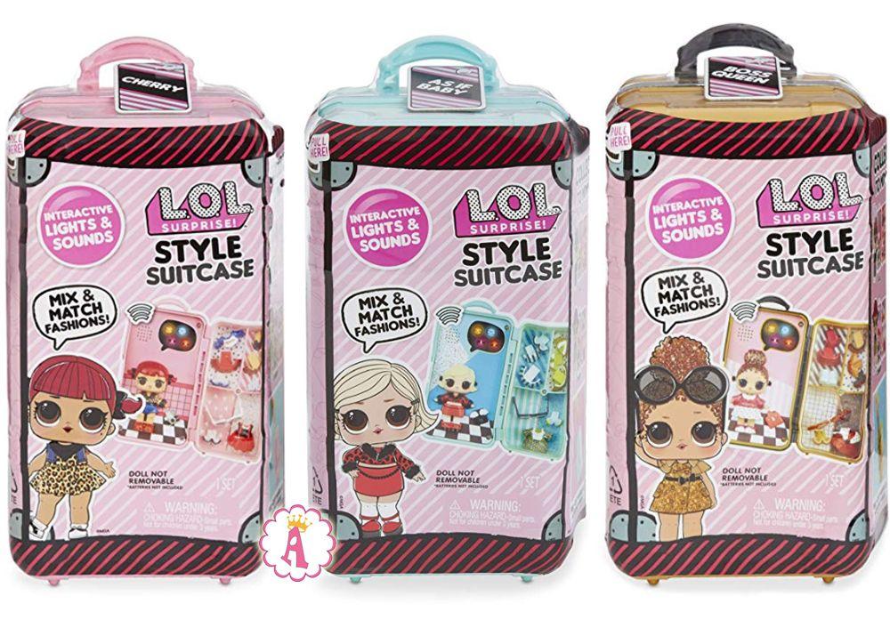 Чемоданчик с одеждой и куклой Лол Сюрприз L.O.L. Style Suitcase Interactive Surprise