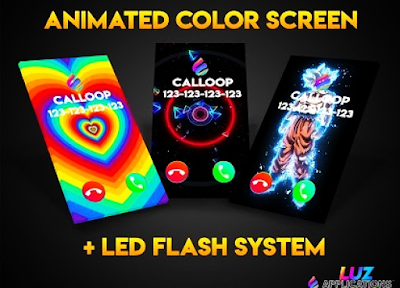 Color Phone Flash Call Calloop pro v1.7 Paid