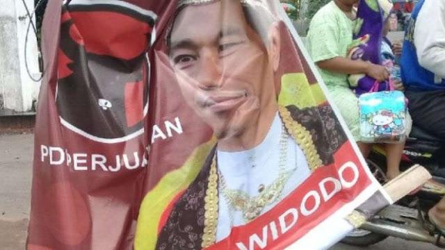PDIP: Bisa Jadi Poster 'Raja Jokowi' Buatan Pendukung Sendiri