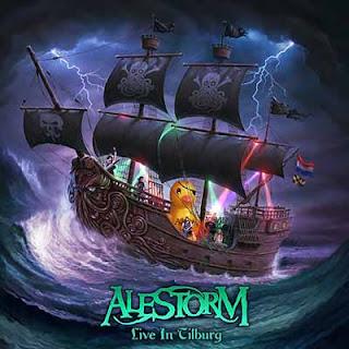 """Ο δίσκος των Alestorm """"Live in Tilburg"""""""