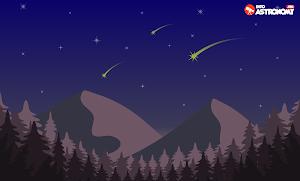 Menanti Puncak Hujan Meteor Orionid 2019
