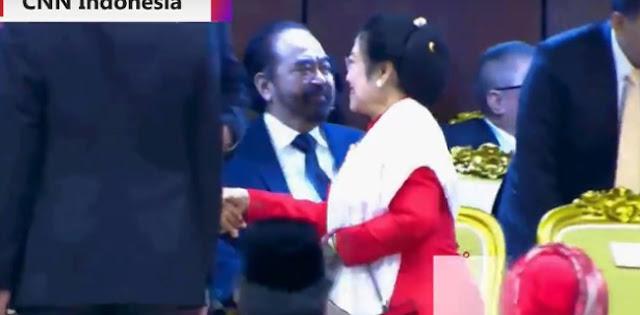 Dicuekin Dua Kali, Megawati Seperti Ingin Surya Paloh Keluar Dari Koalisi
