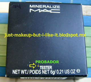 76a1e1988 Sombras MAC Piratas ~ Maquillaje... Tips, Productos y Opiniones