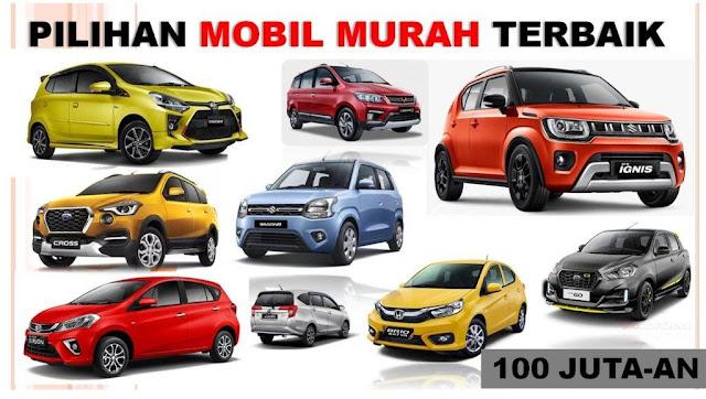 Pilihan Daftar Harga Mobil Murah Tahun 2020 Terbaik Harga 100 Jutaan