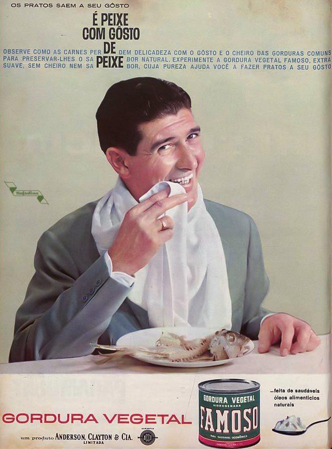 Anúncio antigo do Creme Dental Famoso veiculado em 1967