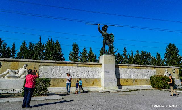 Local da Batalha das Termópilas, Grécia