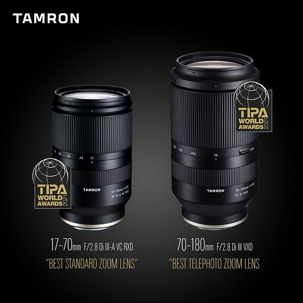 Objetiva Tamron 17-70mm ganha prestigioso Prémio TIPA 2021