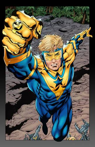 Booster Gold es un héroe cómico