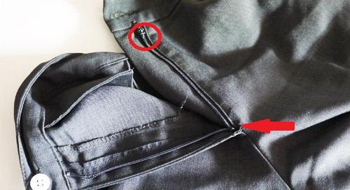 Tutorial Cara Memperbaiki Kepala Resleting Celana Yang Keluar Jalur