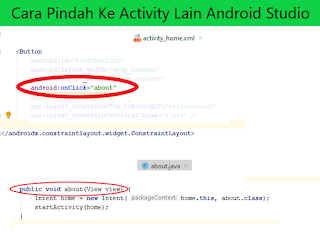 Cara Pindah Activity Android Studio (Form1 ke Form2)