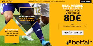 betfair supercuota Real Madrid gana a Sevilla 22 septiembre 2019