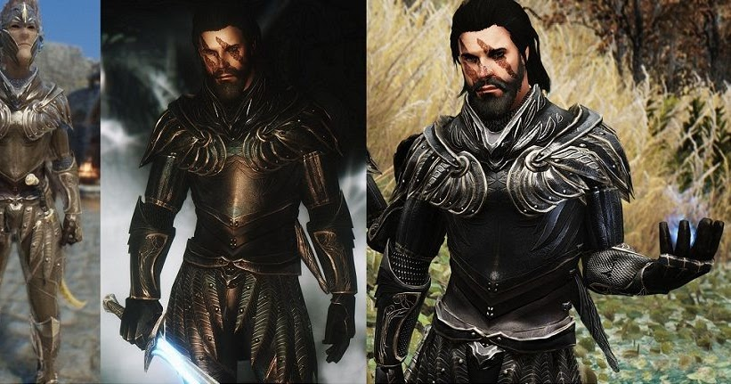 Marvelous Truly Light Elven Armor Male Replacer Standalone