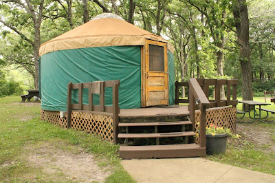 How to Create Your Own Family Adventure - Camping in a Yurt