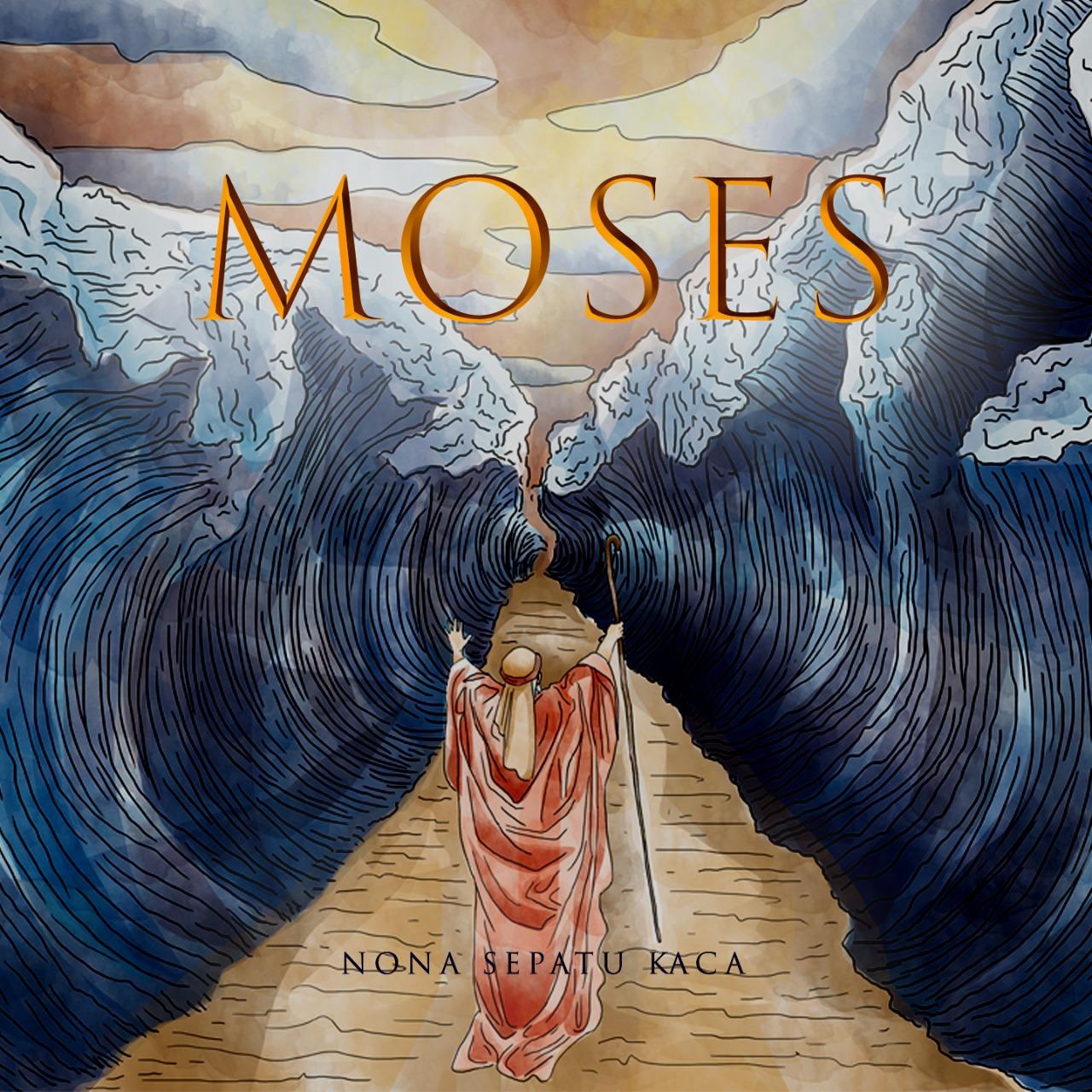 Artwork Moses Nona Sepatu Kaca