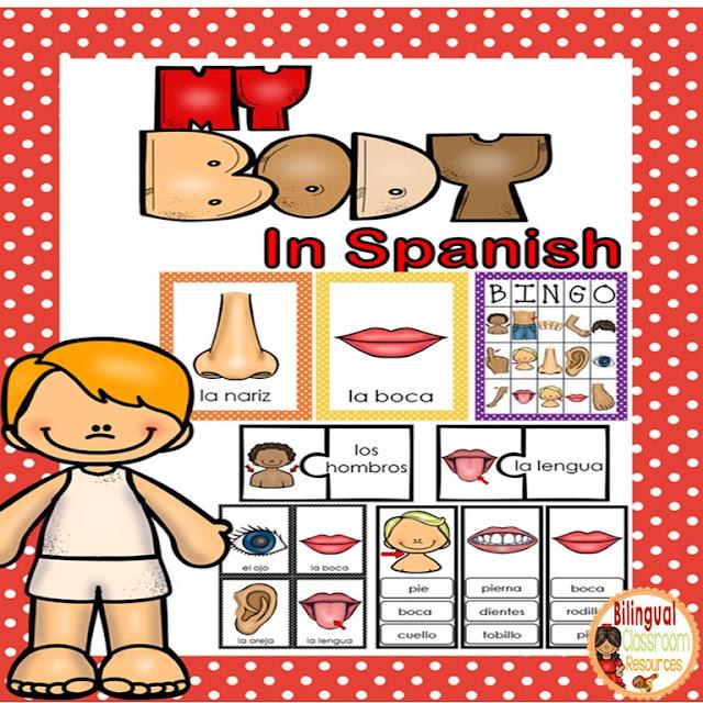 Las Partes de mi Cuerpo is a fun hands-on activity to teach the Body Parts in Spanish.
