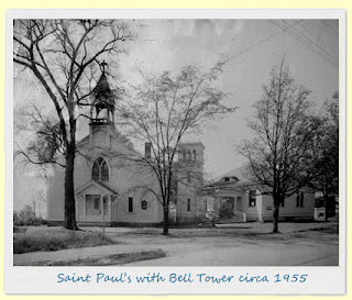 Saint Pauls with Bell Towere circa 1955