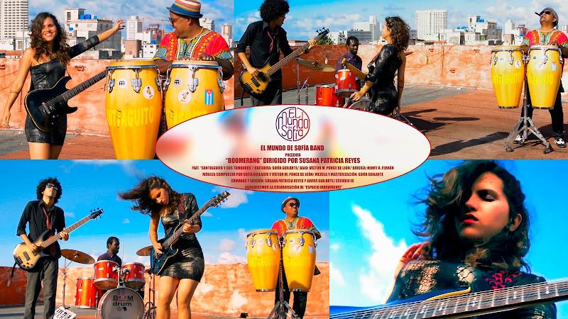 El Mundo de Sofía & Santiaguito y sus Tambores - ¨Boomerang¨ - Videoclip - Dir: Susana Patricia Reyes. Portal Del Vídeo Clip Cubano. Música. Cuba.
