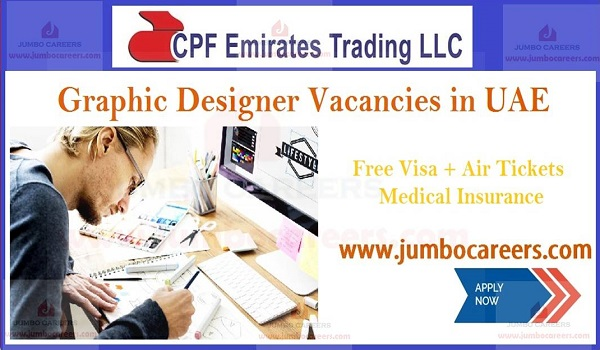 3M Jobs in UAE | Latest Graphic Designer Vacancies in Dubai 2019
