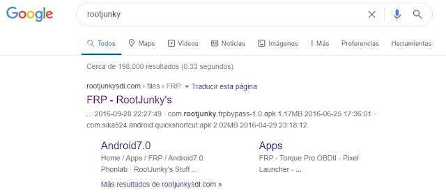 Remover cuenta de google Samsung J7 rootjunky