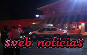 Asaltan gasolinera y se llevan cajero automatico en Amatlan Veracruz