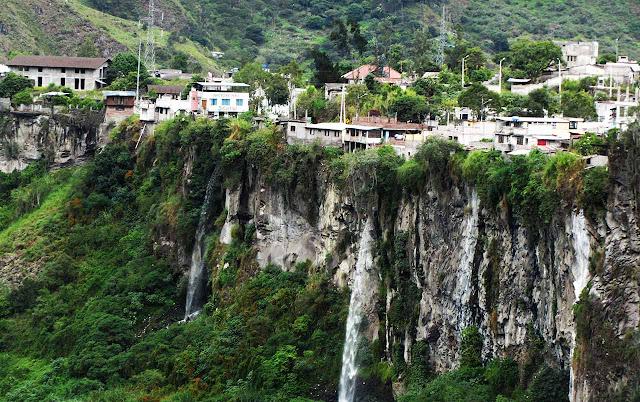 Cachoeiras de Baños - Equador
