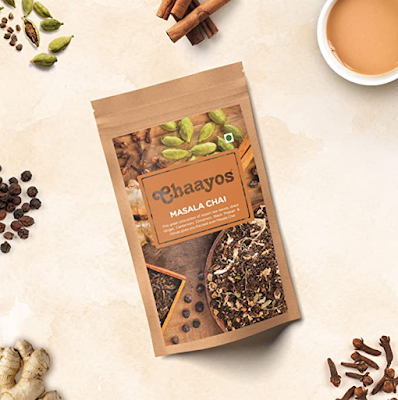 Chaayos Masala Tea Premium Chai Patti with 100% Natural Spices