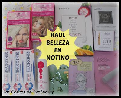 Haul compras belleza beauty Notino low cost