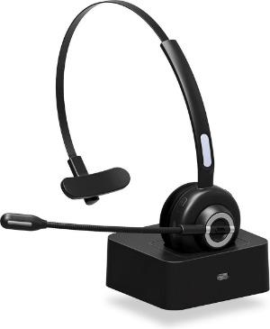 Yono draadloze headset mono met oplader