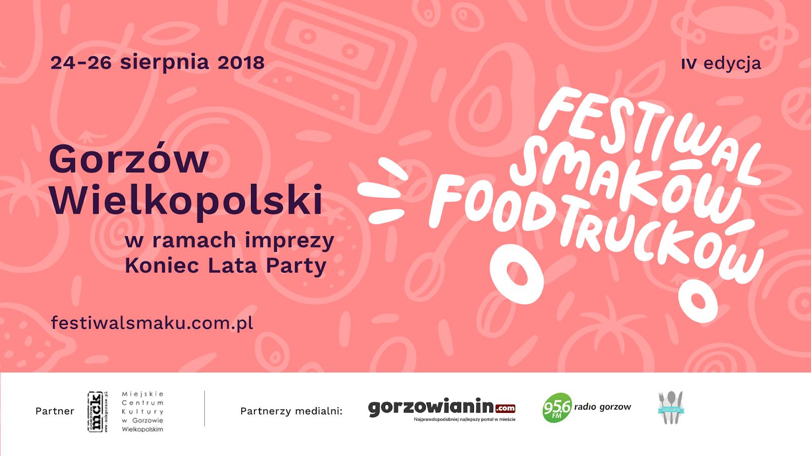 IV Festiwal Smaków Food Trucków w Gorzowie Wlkp.