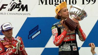 Pendiri Aprilia, Ivano Beggio, Membeberkan Nilai Kontrak Profesional Pertama Yang Didapatkan Oleh Valentino Rossi.