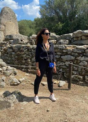 Caterina Balivo villaggio nuraghe la Prisgiona 10 giugno