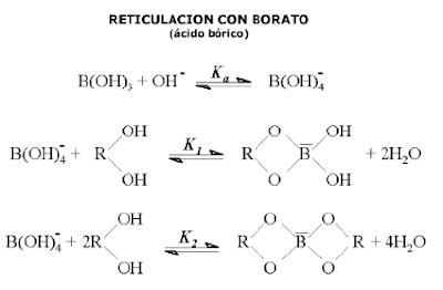 fluidos para fracturamiento hidráulico reticulación borato