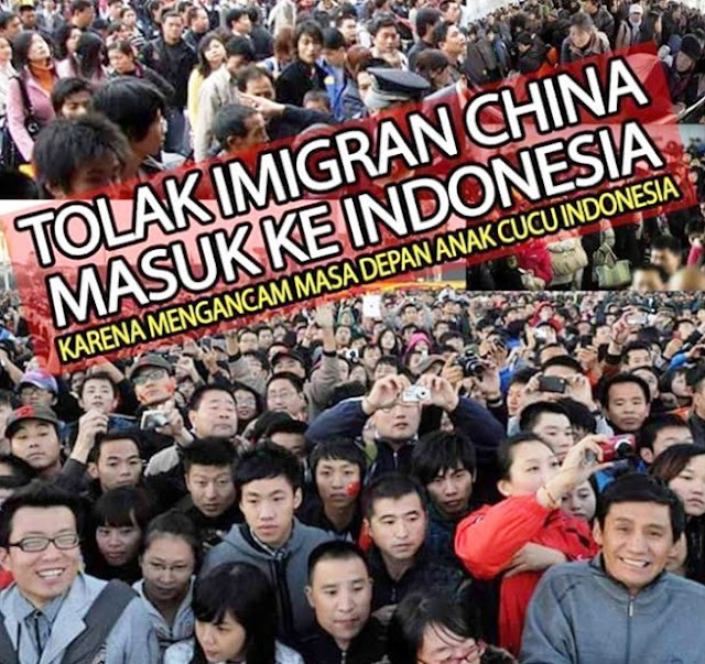 10 Juta Tenaga Kerja Cina Masuk Indonesia, Kebencian Tanpa Solusi