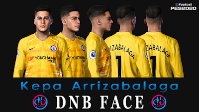 PES 2020 Faces Kepa Arrizabalaga by DNB