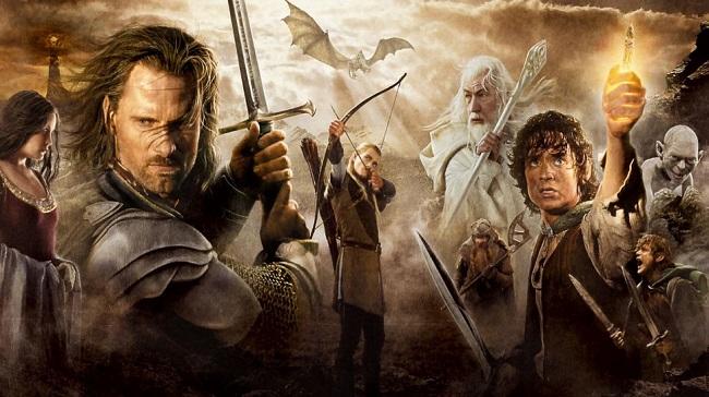 O Senhor dos Anéis: O Retorno do Rei/Reprodução