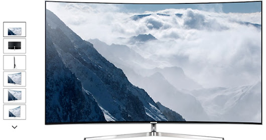 Curved Smart TV  KS9000 Series 9 From Samsung