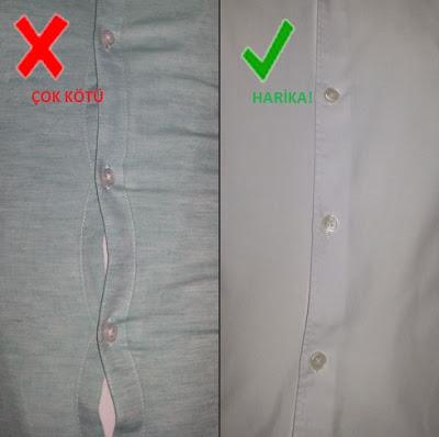 Gömlek ölçüleri