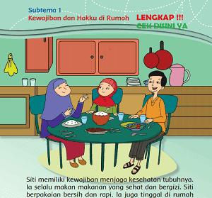 Subtema 1 Kewajiban dan Hakku di Rumah kelas 3 tema 4 www.simplenews.me