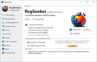 برنامج, قوى, وفعال, لتنظيف, وتسريع, سجل, الويندوز, RegSeeker, اخر, اصدار