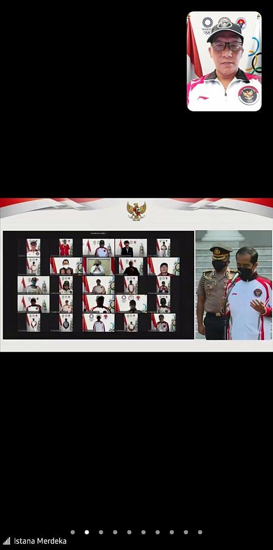 Pelepasan Kontingen Indonesia untuk Olimpiade Tokyo Digelar Secara Virtual