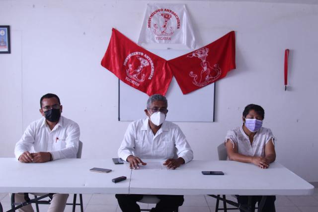 Anuncia Antorcha manifestaciones ante falta de resultados en Yucatán. Antonio Sánchez